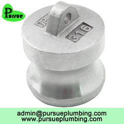 Camlock DP dust plug adapter supplier