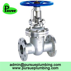 stainless steel flanged gate valve china supplier