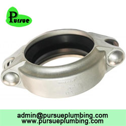 Stainless steel groove coupling fitting