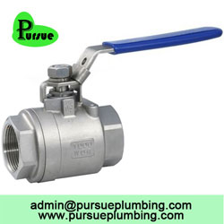 2 piece ball valve china supplier
