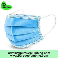 CE approved 3 ply nonwoven disposable face mask