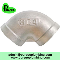 90 degree female elbow supplier